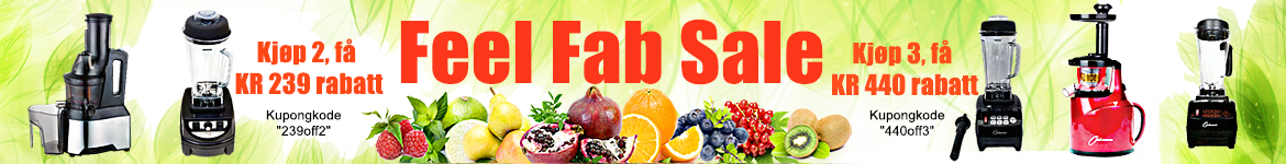SWEDEN Coupon Code Feel Fab Promo Banner